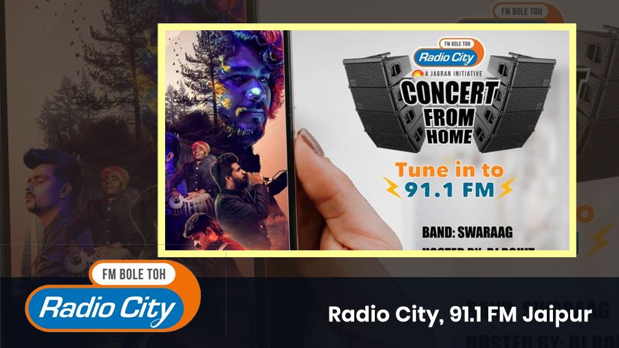Interview with RJ Rohit Radio City 91.1 FM image